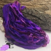 Electric purple - sari silk ribbons