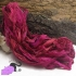 Electric pink - sari silk ribbons