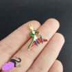 1 enamel charm with Little Prince