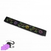 Incense holder with handpainted flowers