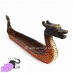 Incense holder with viking boat Drakkar