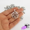 2 charms with pentagram