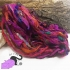 Gipsy Purple - sari silk ribbons